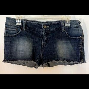 🌵PAPAYA JEANS Blue Denim Shorts Sz L